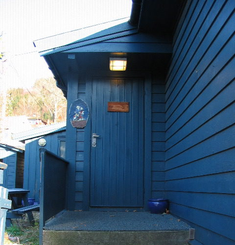 Inngangsdøra